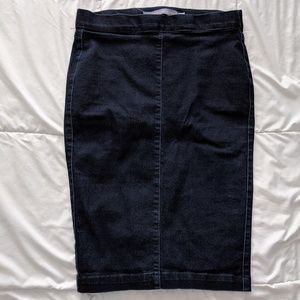 Denim Stretchy Skirt